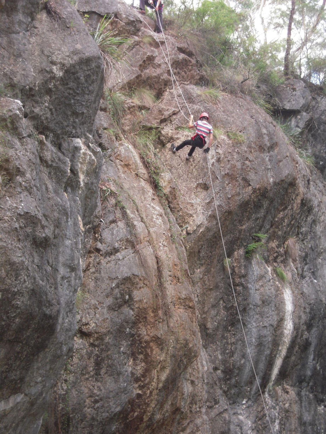 Abseiling - overcoming fear