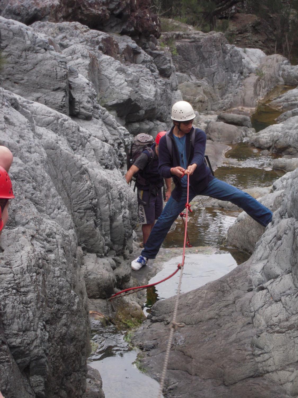 Canyoning skills