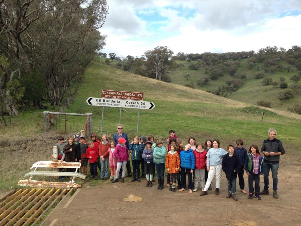 Class 4-5 camp Cunninghams Pandora Pass