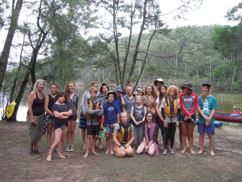 High School Kangaroo Valley Camp