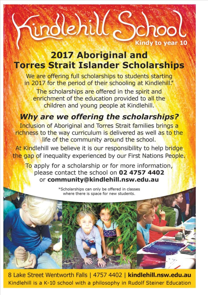 Kindlehill Scholarship 2016-2017